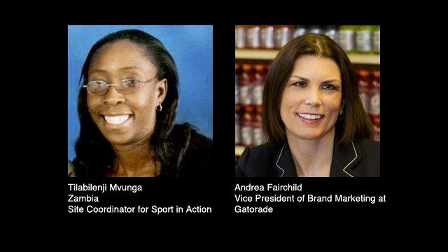 Tilabilenji Mvunga and Andrea Fairchild