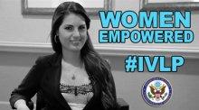 Photo of IVLP alumna