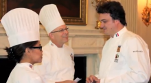 Photo of three chefs