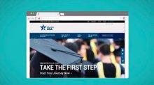Screenshot of the EducationUSA website