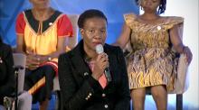 international woman of courage Malebogo Molefhe