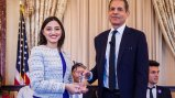 Undersecretary Richard Stengel and Emerging Young Leader Award Participant