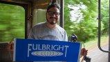 Fulbright Millennial Trains Project participant, Rodrigo