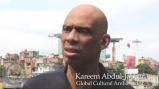 Kareem Abdul-Jabbar in Rio de Janeiro, Brazil