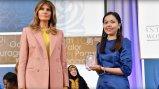 Melania Trump and awardee