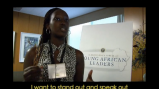 Dianah Mukundwa, a leader from Rwanda, shares her thoughts on President Obama's Forum with Young African Leaders.