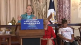 Women's World Cup Initiative: Hillary Clinton speaks on empowering women through sports