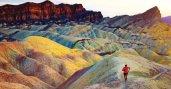 Dean Karnazes running in desert