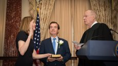 Marie Royce Sworn In as Assistant Secretary of State for Educational and Cultural Affairs