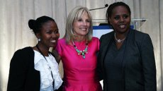 Dr. Jill Biden Joins TechWomen Mentors and Leaders to Hear Their Mentoring Stories