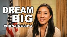 Dream Big, featuring Michelle Kwan (2014 Nanjing Youth Olympics)
