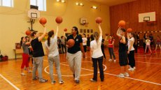 Empowering Women and Girls: WNBA Basketball Envoys in Ukraine