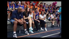American Basketball Players Travel to Venezuela