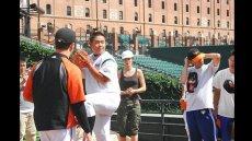Japanese Baseball Delegation Visits the U.S.
