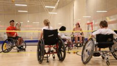 Wheelchair Tennis Envoy David Wagner Hits Grand Slam with Canadian Youth
