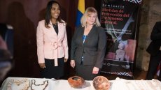 Cultural Antiquities Task Force and Colombian Officials Partner for a Seminar on Cultural Heritage Protection