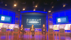 "Chair Participates at 39th Annual Fulbright Association Conference: ""Fulbright at 70: Meeting New Challenges"""