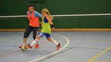 Sports Visitors Program Hosts Futsal Athletes