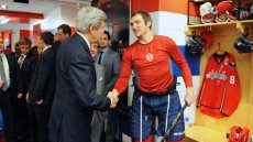 Secretary Kerry Honors Sochi-Bound Hockey Players