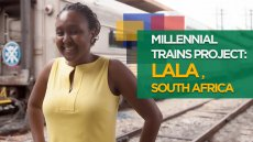Fulbright on the Millennial Trains Project: Lala, South Africa