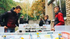 Coping with Stress through Table Hockey