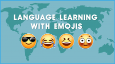 Language Learning with Emojis