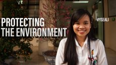 Young Southeast Asian Leader Works to Protect the Environment
