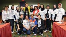 Iraqi Female Volleyball Coaches Visit the U.S.