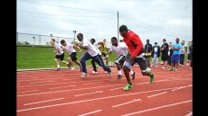 Track & Field Athletes from Kenya and Nigeria Participate in Sports Diplomacy