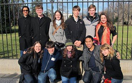 Group of NSLIY alumni.