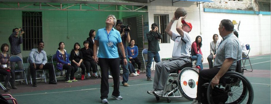 State Department Sports Program Helps Young People with Disabilities in China.