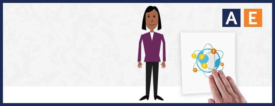 illustration of woman