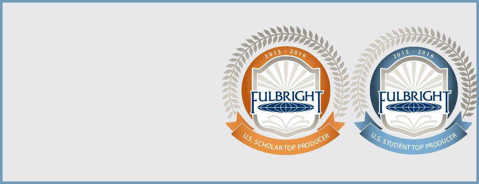icons for top fulbright scholars and students