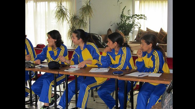 Participants from Tunisia and Libya were able to take part in activities in Morocco, too.
