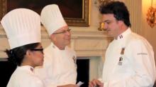 Photo of three chefs