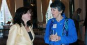 Under Secretary for Public Diplomacy and Public Affairs Tara Sonenshine and Fulbright Board Vice Chair Susan Ness.