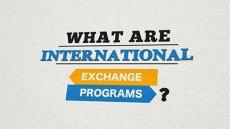 Exchange Programs Are...